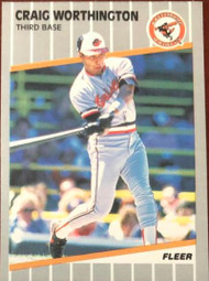 Craig Worthington 1989 Fleer #627
