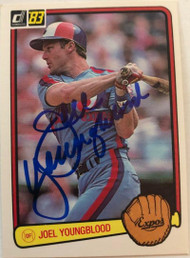 Joel Youngblood Autographed 1983 Donruss #572