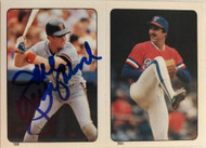 Joel Youngblood Autographed 1985 Topps Stickers #168