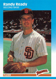 1987 Fleer Update #U-100 Randy Ready NM-MT San Diego Padres