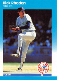 1987 Fleer Update #U-103 Rick Rhoden NM-MT New York Yankees