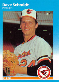 1987 Fleer Update #U-107 Dave Schmidt NM-MT Baltimore Orioles