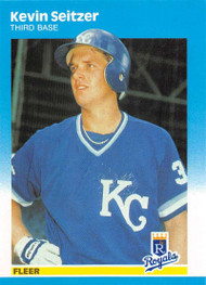 1987 Fleer Update #U-108 Kevin Seitzer UER NM-MT Kansas City Royals