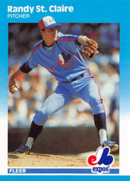 1987 Fleer Update #U-113 Randy St. Claire NM-MT Montreal Expos