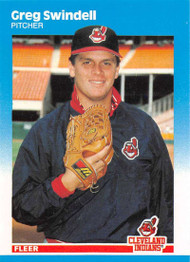 1987 Fleer Update #U-116 Greg Swindell NM-MT Cleveland Indians