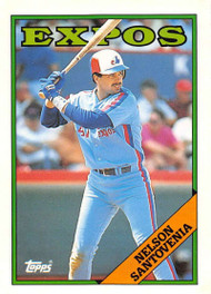1988 Topps Traded #102T Nelson Santovenia NM-MT Montreal Expos