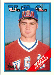 1988 Topps Traded #106T Scott Servais OLY NM-MT RC Rookie USA/Houston Astros