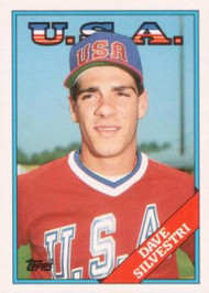 1988 Topps Traded #107T Dave Silvestri OLY NM-MT RC Rookie USA