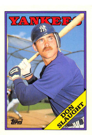 1988 Topps Traded #108T Don Slaught NM-MT New York Yankees