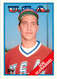 1988 Topps Traded #109T Joe Slusarski OLY NM-MT RC Rookie USA