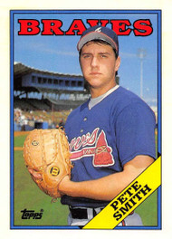 1988 Topps Traded #111T Pete Smith NM-MT RC Rookie Atlanta Braves