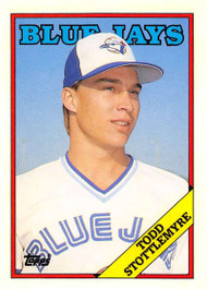 1988 Topps Traded #116T Todd Stottlemyre NM-MT RC Rookie Toronto Blue Jays