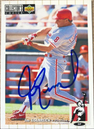 Jim Eisenreich Autographed 1994 Collectors Choice #388