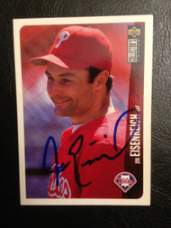 SOLD 739 Jim Eisenreich Autographed 1996 Collectors Choice #649