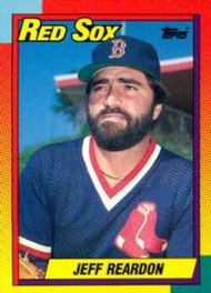 1990 Topps Traded #101T Jeff Reardon NM-MT Boston Red Sox