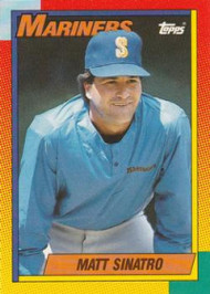 1990 Topps Traded #115T Matt Sinatro NM-MT Seattle Mariners