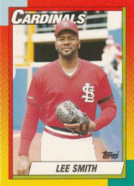 1990 Topps Traded #118T Lee Smith NM-MT St. Louis Cardinals