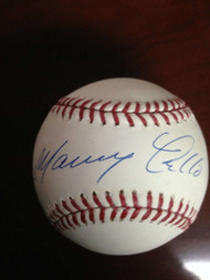 Manny Trillo Autographed ROMLB Baseball