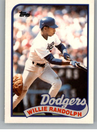 1989 Topps Traded #100T Willie Randolph NM-MT Los Angeles Dodgers