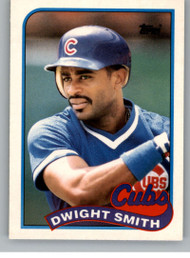 1989 Topps Traded #113T Dwight Smith NM-MT RC Rookie Chicago Cubs