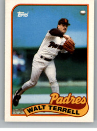 1989 Topps Traded #117T Walt Terrell NM-MT San Diego Padres