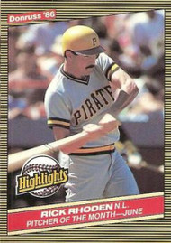 1986 Donruss Highlights #20 Rick Rhoden NM-MT Pittsburgh Pirates