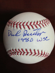 SOLD 785 Dick Ruthven Autographed ROMLB Baseball 1980 W.S.C.