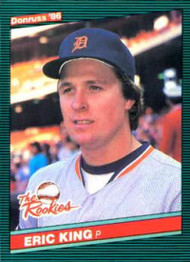1986 Donruss Rookies #27 Eric King NM-MT RC Rookie Detroit Tigers
