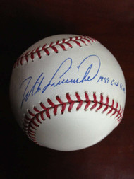 Mike Lieberthal Autographed ROMLB Baseball 1999 Gold Glove