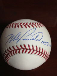 SOLD 797 Mike Lieberthal Autographed ROMLB Baseball Phillies WOF 2012