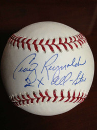 SOLD 798 Craig Reynolds Autographed ROMLB Baseball 2 X All-Star