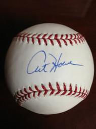 SOLD 799 Art Howe Autographed ROMLB Baseball