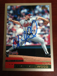 Kevin Millwood Autographed 2000 Topps #321