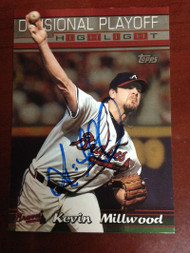 Kevin Millwood Autographed 2000 Topps #222