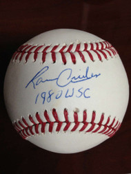 Ramon Aviles Autographed ROMLB Baseball 1990 W.S. Champs