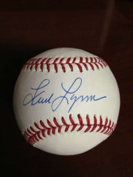SOLD 851 Fred Lynn Autographed ROMLB Baseball