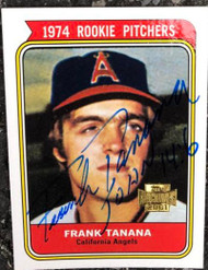 Frank Tanana Autographed 2001 Topps Archives #295