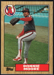 1987 Topps #115 Donnie Moore NM-MT California Angels