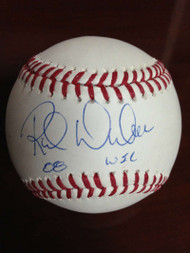 Rich Dubee Autographed ROMLB Baseball 08 WS Champs