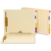 Smead 34101 Manila End Tab Fastener File Folder with Full Pocket