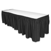 Genuine Joe Linen-like Table Skirts - 1
