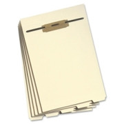 Smead 35600 Manila Folder Dividers with Fastener