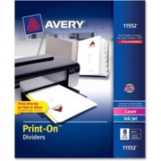 Avery Customizable Print-On Dividers - 3