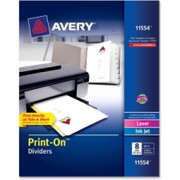 Avery Customizable Print-On Dividers - 4