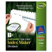 Avery Eco-friendly Index Divider