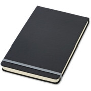 TOPS Black Cover Wide Ruled Top Bound Journal