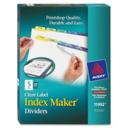 Avery 5-Colored Tabs Presentation Divider - 1