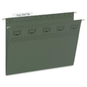 Smead 64036 Standard Green TUFF Hanging Folders with Easy Slide Tab