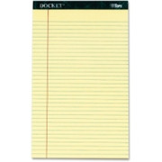 TOPS Docket Letr-Trim Legal Rule Canary Legal Pads - 1