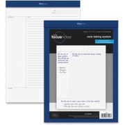 "TOPS FocusNotes Legal Pad, 8.5"" x 11.75"", White, 50 SH"